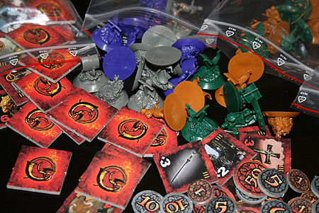Beowulf Brettspiel Packung