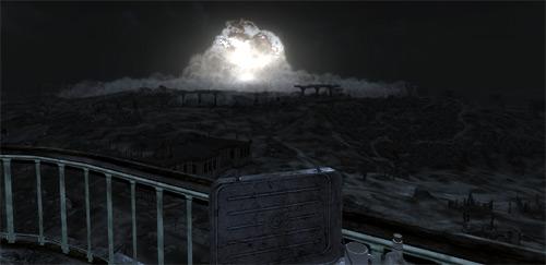 Fallout 3 Megaton Explosion