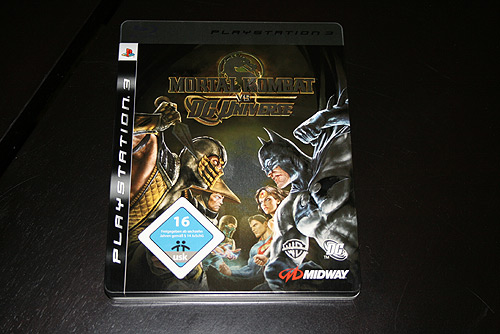 Mortal Kombat vs. DC Universe Limited Edition Steelcase